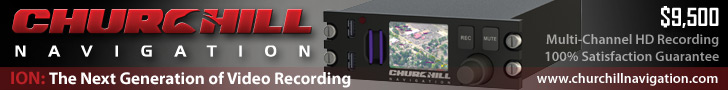 Churchill Navigation - ION: The Next Generation of Video Recording. $9,500 Multi-Channel HD Recordin